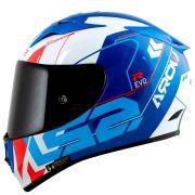 Capacete LS2 FF323 Arrow R techno White/Blue/Red