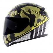 Capacete LS2 FF353 Rapid Bravado - camo/amarelo