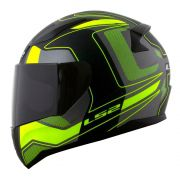 Capacete LS2 FF353 Rapid Carrera - Black/Yellow