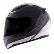 Capacete LS2 FF353 Rapid Deeper - cinza