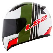 Capacete LS2 FF353 Rapid MULTIPLY WHT/GRE/RED