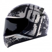 Capacete LS2 FF353 Rapid Spy - Preto/cinza