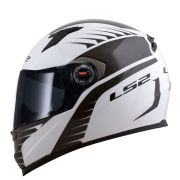 Capacete LS2 FF358 Air Fighter Matte White/Black