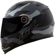 CAPACETE LS2 FF358 ARMY - CINZA