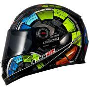 Capacete LS2 FF358 Tech Raimbow - Pronta Entrega