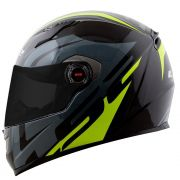 Capacete LS2 FF358 Touring BLK/Gry/FLO Yellow