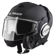 Capacete LS2 FF399 Valiant Matt Black - Escamoteável