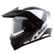 Capacete LS2 Metro Evo FF324 Rapid Articulado - White/Black