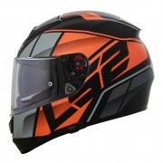 Capacete LS2 Vector FF397 FT2 Krypton - Laranja