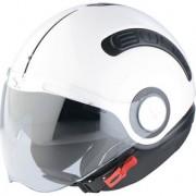 Capacete Nexx SX10 Branco - Aberto com Viseira Solar