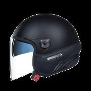 Capacete Nexx X70 INSIGNIA BLACK MT  Tri-Composto - Aberto