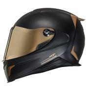 Capacete Nexx XR2 Carbon Golden Edition - Acompanha Viseira Dourada e Cristal