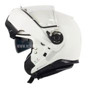 Capacete Nolan N100-5 Classic Branco (10) Articulado/Escamoteável