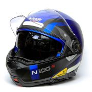 Capacete Nolan N100-5 Consistency Blue (23) Articulado (NOVO!)
