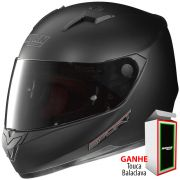 Capacete Nolan N64 Sport Flat Black - Ganhe Balaclava Exclusiva!