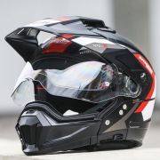 Capacete Nolan N70-2 X Grandes Alpes Matte Black/Red - Big Trail / Off Road