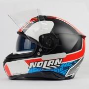 Capacete Nolan N87 Gemini Alex Rins (Réplica Oficial Piloto Suzuki) C/ Viseira Solar - Ganhe Touca Balaclava (AGV K1 / K3 SV)