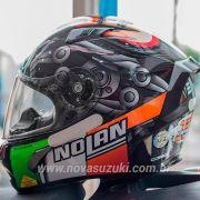 Capacete Nolan X-803 Ultra Carbon Melandri - Esportivo - Ganhe Touca Balaclava