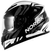 Capacete Norisk FF302 Jungle - Black/White