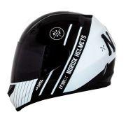 Capacete Norisk FF391 Knight - Black/White