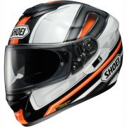 Capacete Shoei GT-Air Dauntless TC-8 Laranja c/ Pinlock Anti-Embaçante