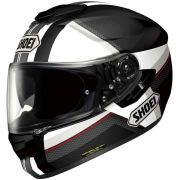 Capacete Shoei GT-Air Exposure Black/White c/ Pinlock Anti-Embaçante