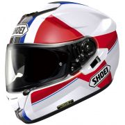 Capacete Shoei GT-Air Exposure Red/Blue c/ Pinlock Anti-Embaçante (BLACK FRIDAY)