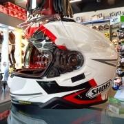 Capacete Shoei GT-Air II Affair TC-6 Branco/Vermelho/Preto C/ Viseira Solar e Pinlock Anti-Embaçante - GT-Air 2