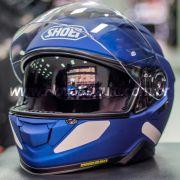Capacete Shoei GT-Air II Azul Fosco C/ Viseira Solar - Lançamento 2019 - GT-Air 2