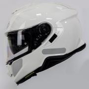 Capacete Shoei GT-Air II Branco C/ Viseira Solar e Pinlock Anti-Embaçante - GT-Air 2