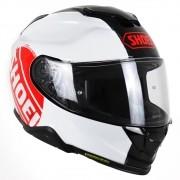 Capacete Shoei GT-Air II Emblem TC-1 Preto/Branco/Vermelho C/ Viseira Solar e Pinlock Anti-Embaçante - GT-Air 2