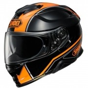 Capacete Shoei GT-Air II Panorama TC-8 Preto/Laranja Com Pinlock Anti-Embaçante - GT-Air 2