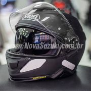 Capacete Shoei GT-Air II Preto Fosco C/ Viseira Solar e Pinlock Anti-Embaçante - GT-Air 2