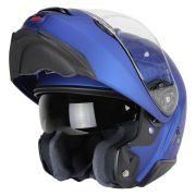 Capacete Shoei Neotec 2 Azul Fosco Escamoteável/Articulado