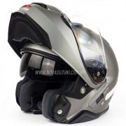 Capacete Shoei Neotec 2 Deep Grey Fosco Escamoteável/Articulado