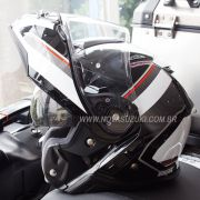 Capacete Shoei Neotec 2 Excursion TC-6 Branco Escamoteável/Articulado