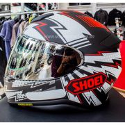 Capacete Shoei NXR Variable TC-1 para Esportivas