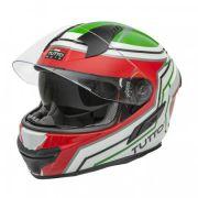 Capacete Tutto Racing Itália c/Óculos Interno - GANHE Viseira Espelhada!