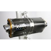 Escapamento Zarc Tri-Oval Para Suzuki SRAD 1000 2012/2014