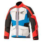Jaqueta Alpinestars Andes V2 Drystar® Honda - Gray/Red/Blue