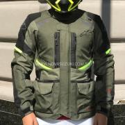 Jaqueta Alpinestars Andes V3 Drystar® Green/Military Parka
