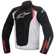 Jaqueta Alpinestars AST-AIR (Black/White/Red) NOVA!
