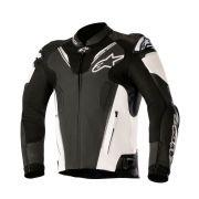 Jaqueta Alpinestars Atem V3 - Black/White Couro