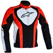 Jaqueta Alpinestars Caladan WP (Black/White/Red)