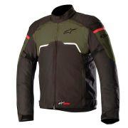 Jaqueta Alpinestars Hyper Drystar - Black/Military Green