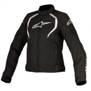 Jaqueta Alpinestars Stella Alux Waterproof Black/White