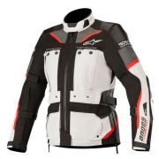 Jaqueta Alpinestars Stella Andes Pro Drystar Tech Air - Light Gray/Black/Gray/Red