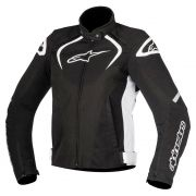 Jaqueta Alpinestars Stella T-GP Plus R V2 Air - Black/White