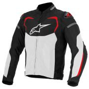 Jaqueta Alpinestars T-GP Pro Air - Black/White/Red