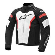 Jaqueta Alpinestars T-GP Pro Black/White/Red